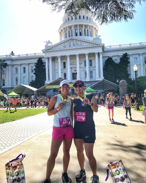 Finisher's pic with our medals and the Capitol