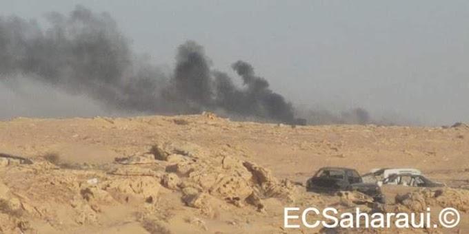 El Polisario ataca con misiles una zona fronteriza en el sur de Marruecos.