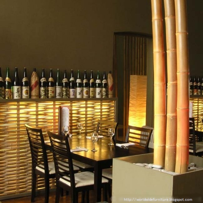 All about home decoration furniture february 2010 - Bamboo designs for interior designing ...