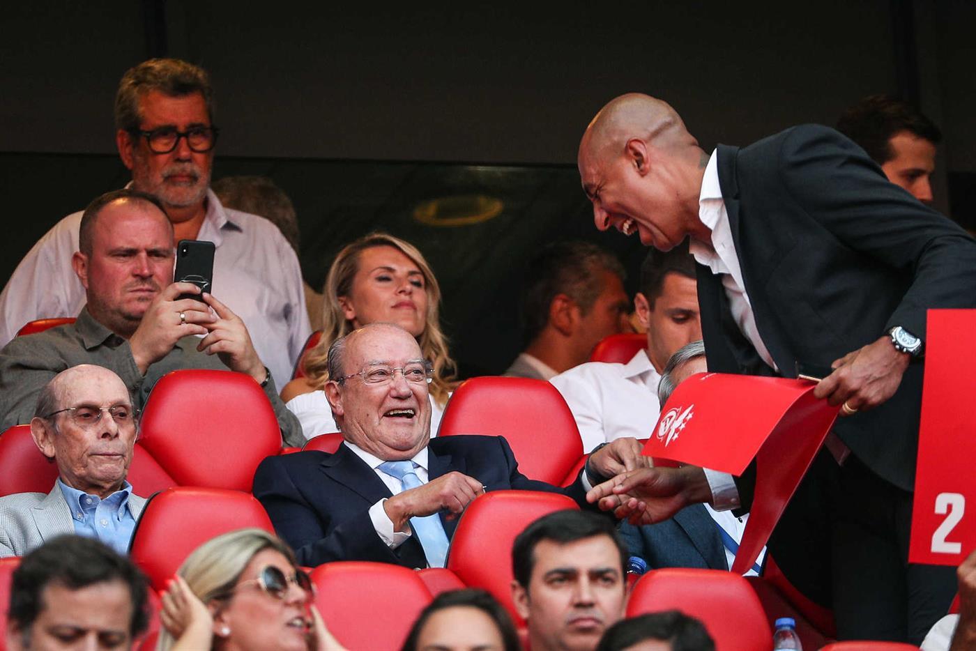 """Lourenço Pinto """"apanhado"""" no Estádio da Luz"""