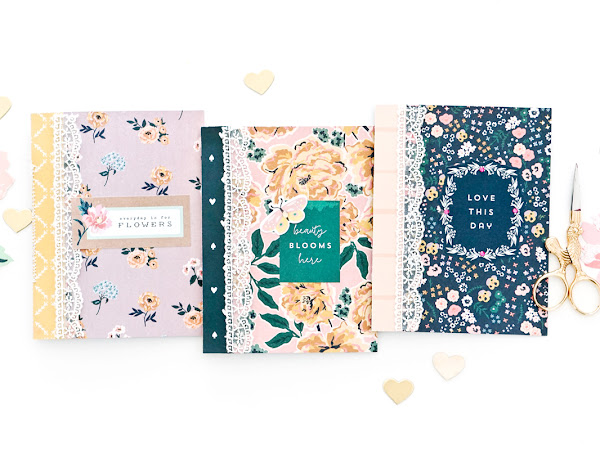 Maggie Holmes Design Team : Cards to Notebook