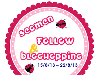 Segmen: Follow & Bloghopping Bubblynotes.Com #2