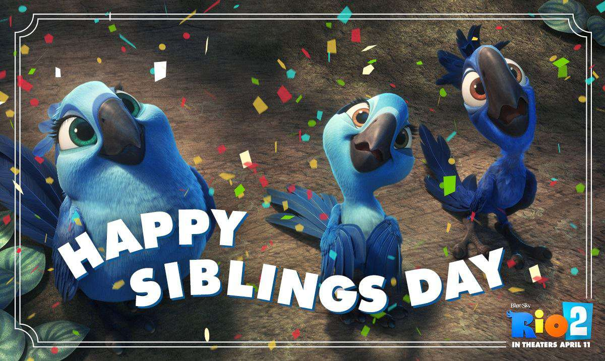 National Siblings Day Wishes Images download