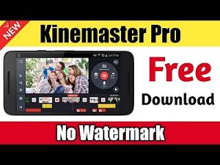 Download Kinemaster Pro MOD APK (No Watermark) Terbaru 2019