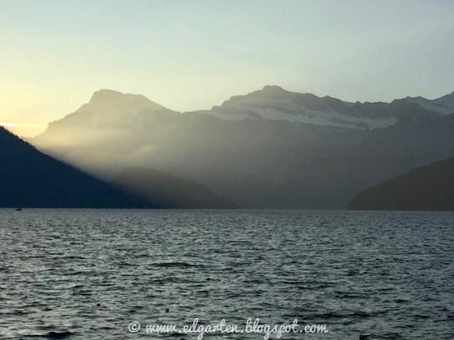 Sonnenaufgang in Weggis