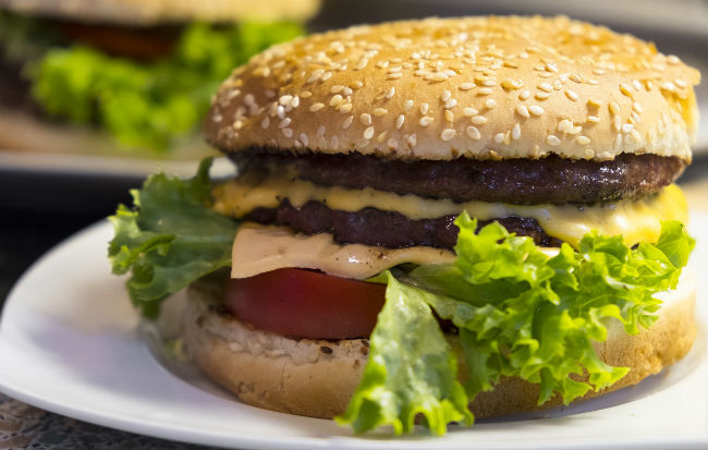 Hamburger infetti da escherichia coli