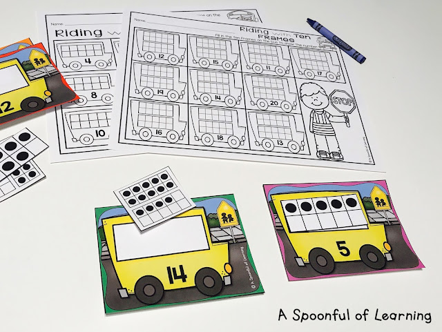 Back to School Centers - Math Center 6