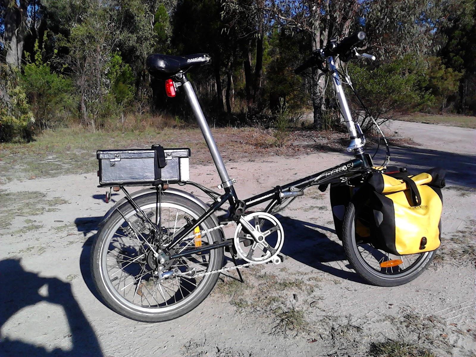Bruce Teakle's Pages: My Ebike – Dahon folding bike