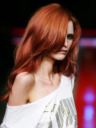 Oceana Banana Red Hair Colour