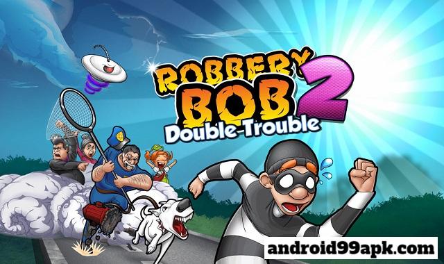 لعبة Robbery Bob v1.18.29 مهكرة (بحجم 38 MB) للأندرويد