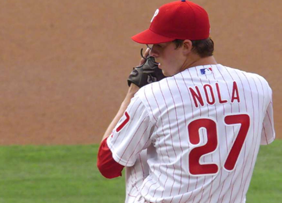 Aaron Nola tosses eight strong for Phillies