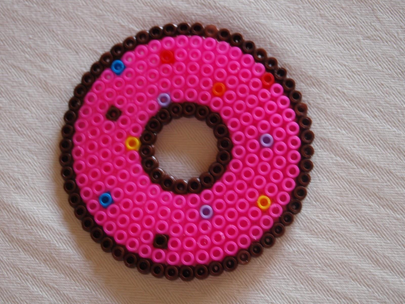 Bugelperlen Vorlage Donut Kiki Die Kinderkiste