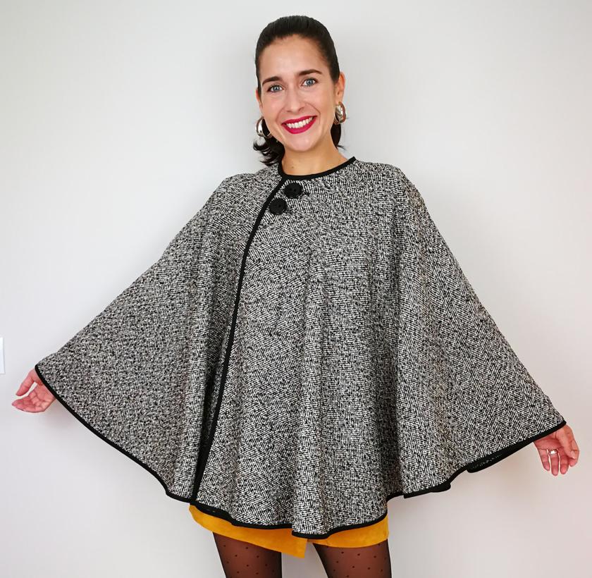 Aprende a coser una capa abrigo para mujer