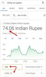 1 Dollar India me Kitna Hota Hai