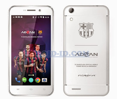 Cara Flash Advan Barca S5Q Bootloop (100% OK)