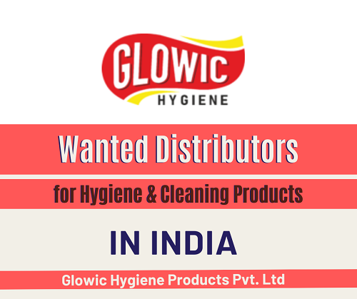 Wanted Distributors for Hygiene & Cleaning Products in India