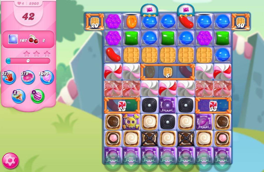 Candy Crush Saga level 8905