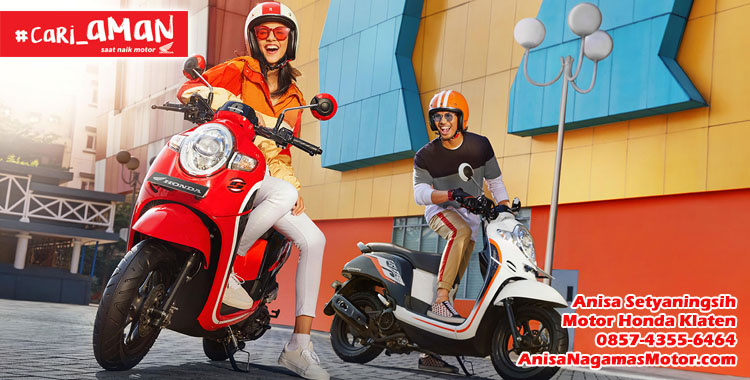 Harga Promo Kredit Honda Scoopy Motor Honda Klaten