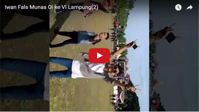 Ini Video Konser Iwan Fals Di Lampung yang Sepi Pengunjung