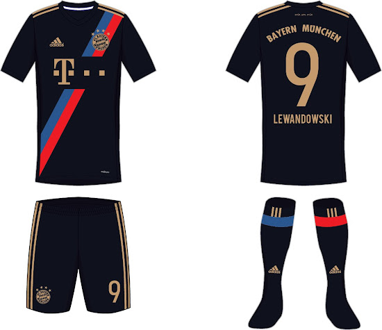 best sneakers 4d0a0 47aaa Stunning Bayern München Away Kit Concept by hendocfc ...