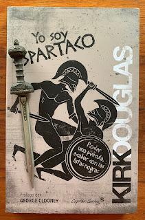 Portada del libro Yo soy Espartaco, de Kirk Douglas