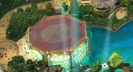 Universal Epic Universe Octagon Building Concept Art