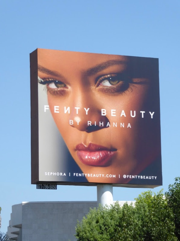 Fenty Beauty Rihanna billboard