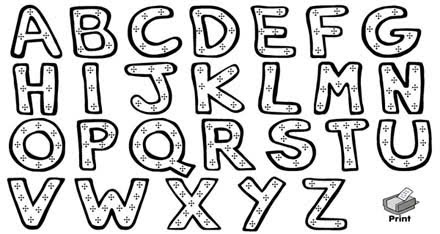 letters in the alphabet graffiti fonts graffiti abc xyz all 26 letters of the 23358 | graffiti%2Balphabets%2Bprintouts
