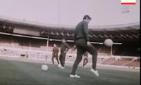 ΣΠΑΝΙΟ ΒΙΝΤΕΟ! Ο ΠΑΟ κάνει προπόνηση στο Γουέμπλεϊ πριν τον τελικό του 1971...