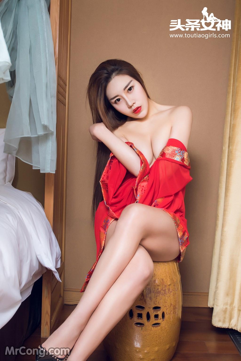 Image MrCong.com-TouTiao-2016-12-16-An-Su-Rui-005 in post TouTiao 2016-12-16: Người mẫu An Su Rui (安苏芮) (27 ảnh)