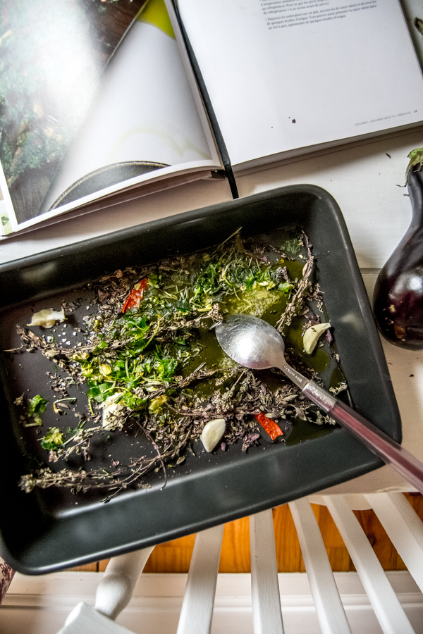 recette aubergines marinees ottolenghi