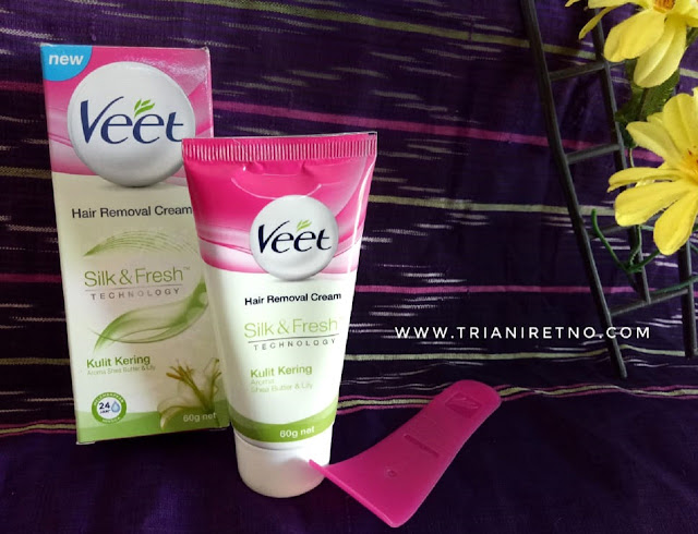kulit halus mulus dengan veet hair removal cream