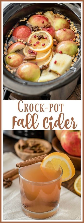 CROCK POT FALL CIDER RECIPE