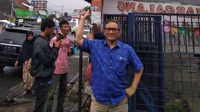 Andi Arief Tidak Berhenti Setelah Laporkan Lima Anggota TKN, Ini yang akan Dilakukan Besok