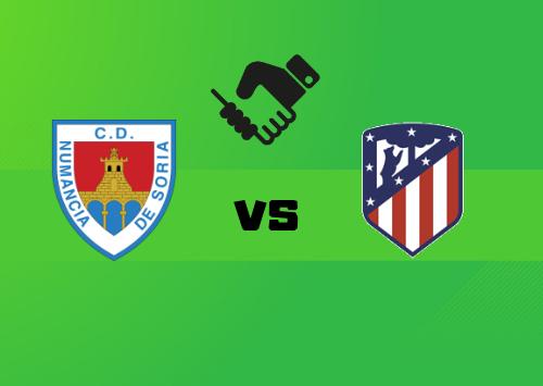 Numancia vs Atlético Madrid  Resumen