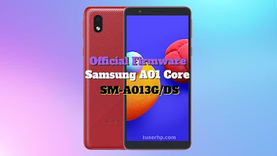 Firmware Samsung A01 Core Bahasa Indonesia