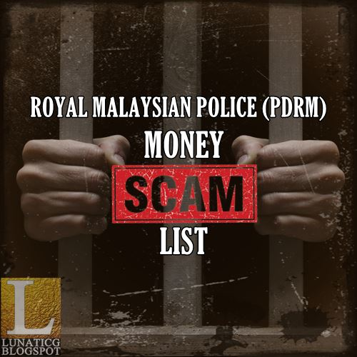 PDRM Scam