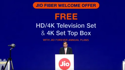 100Mbps Internet Connection to be offered by JioFiber | Jio GigaFiber | Official Launch 5th September - Techsmart360
