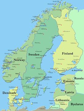 kart norge sverige danmark Rigmors liv: Om Finland, september 2015 kart norge sverige danmark