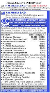 Qcon Maintenance project requirements for Qatar