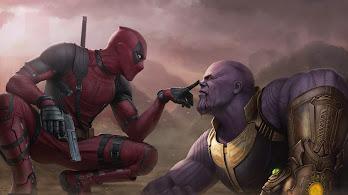 Deadpool vs. Thanos, 4K, #119