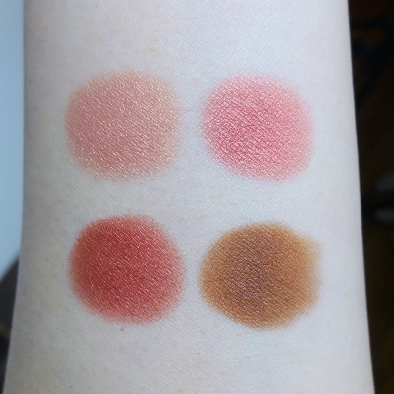 Chanel Candeur et Provocation review swatches