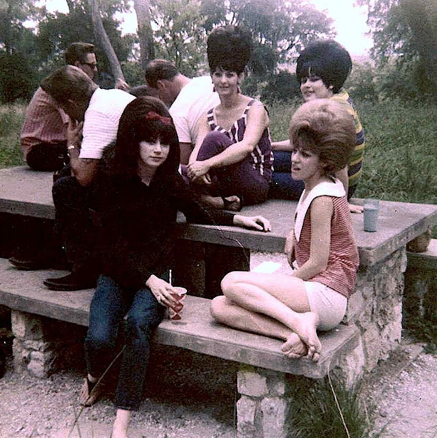 1965 youth fashion large color photograph
