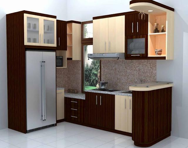 Dapur Minimalis Sederhana Ukuran 3x3