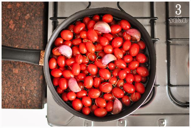 tomate confit receita