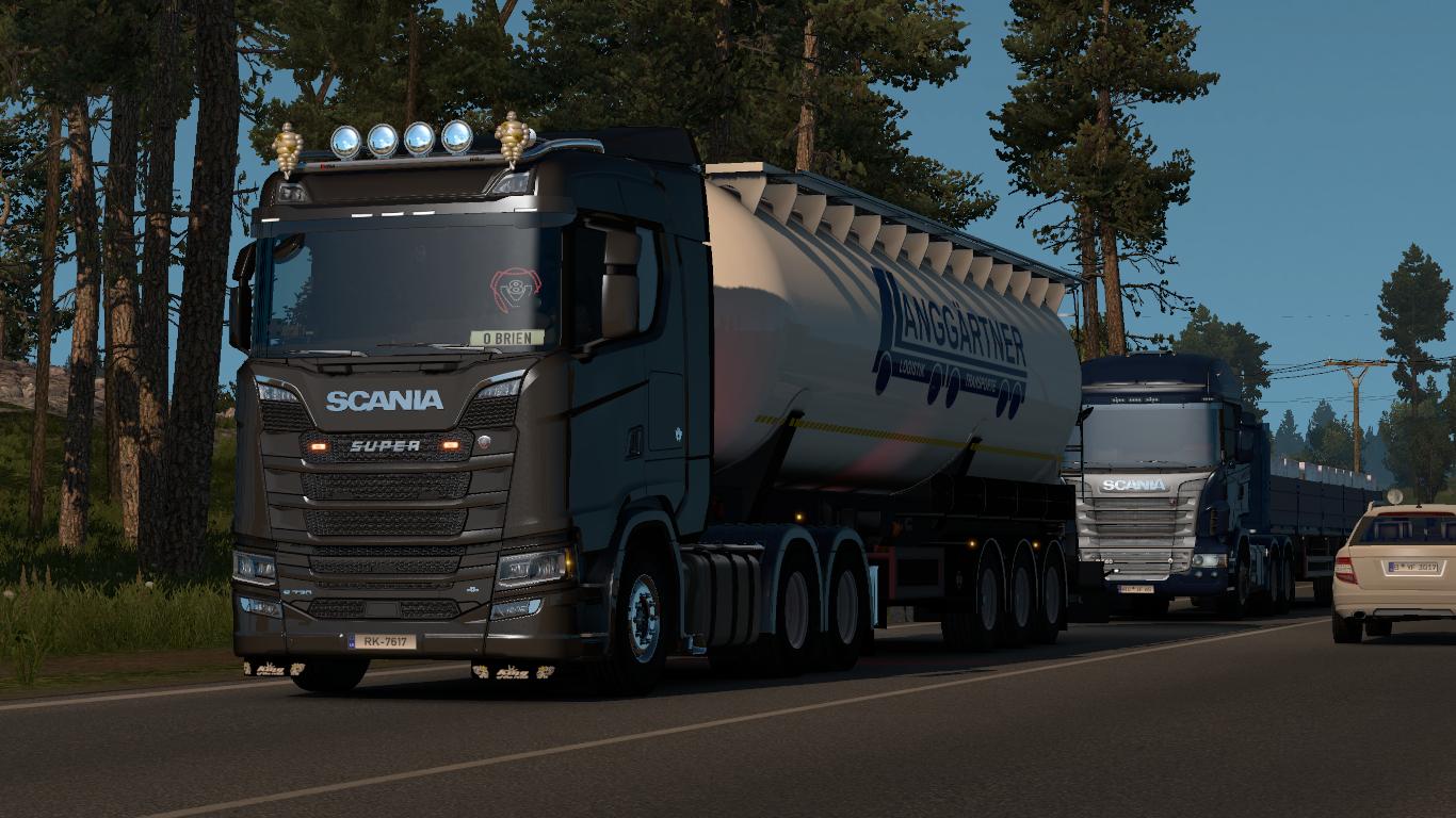 Scania Nextgen Real V8 Sound - Euro Truck Simulator 2 Mod World