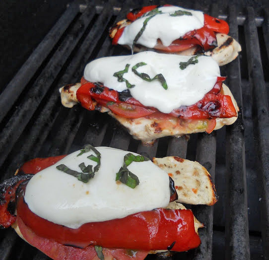 Donna's Grilled Caprese Chicken