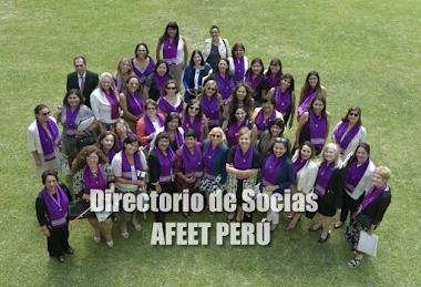 DIRECTORIO DE SOCIAS AFEET PERÚ