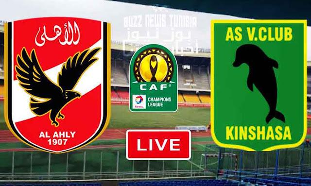 Match Vita Club vs Al Ahly Live Stream