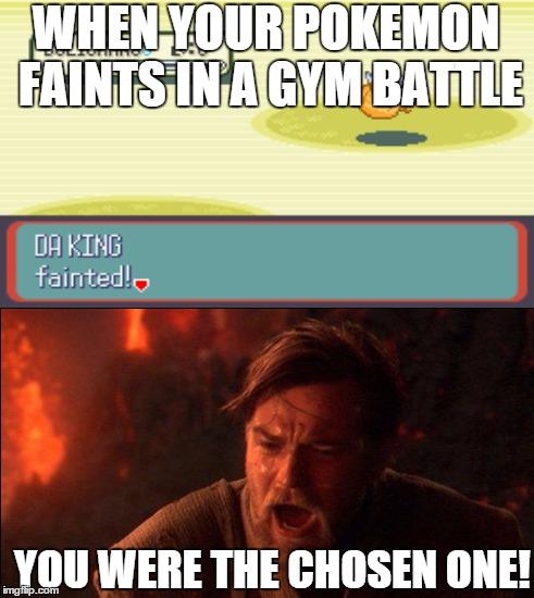 pokemon you were the chosen one meme